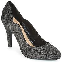 Schoenen Dames pumps Moony Mood JANNEE Zwart / Zilver