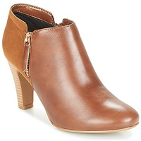 Schoenen Dames Low boots Moony Mood FADI  camel