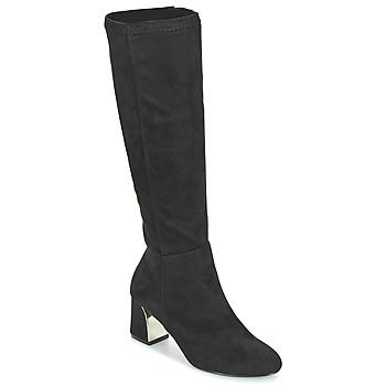 Schoenen Dames Hoge laarzen Moony Mood JORDANA Zwart