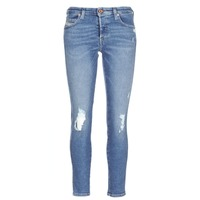 Textiel Dames Skinny jeans Diesel BABHILA Blauw / 084wp