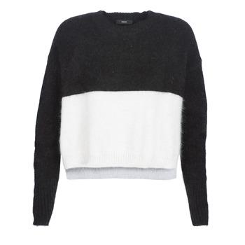 Textiel Dames Truien Diesel M AIRY Zwart / Wit