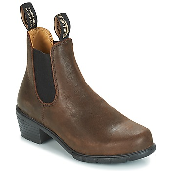 Schoenen Dames Laarzen Blundstone WOMEN'S HEEL BOOT Brown