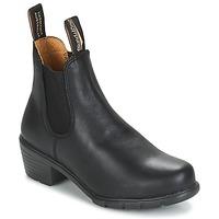 Schoenen Dames Laarzen Blundstone WOMEN'S HEEL BOOT Zwart