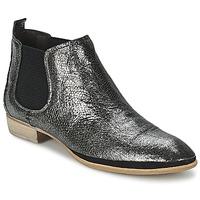 Schoenen Dames Laarzen Un Matin d'Ete TOBAGO Zwart / Zilver