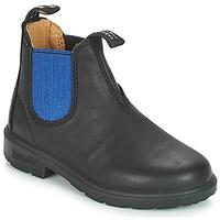 Schoenen Kinderen Laarzen Blundstone KIDS BOOT Zwart / Blauw