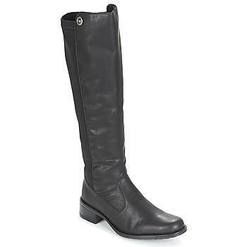 Schoenen Dames Hoge laarzen Rieker ARNIA Zwart