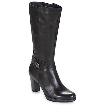Schoenen Dames Hoge laarzen Dorking REINA Zwart