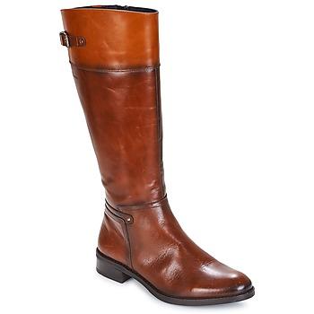 Schoenen Dames Hoge laarzen Dorking TIERRA Brown