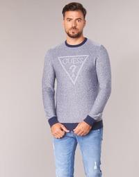 Textiel Heren Truien Guess TAMAC Blauw