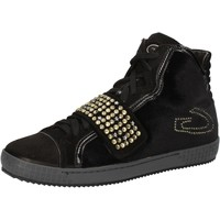 Schoenen Dames Hoge sneakers Guardiani AE827 Noir