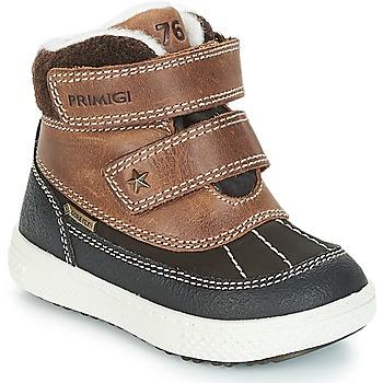 Schoenen Jongens Laarzen Primigi 2372600 PBZGT GORE-TEX Brown