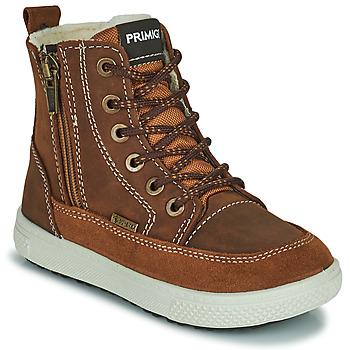 Schoenen Jongens Laarzen Primigi PCA 24130 Brown