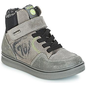 Schoenen Jongens Hoge sneakers Primigi AYGO GORE-TEX Grijs