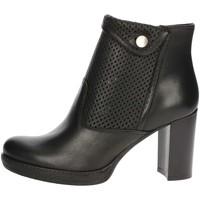 Schoenen Dames Low boots Genus Millennium P500/FR Black