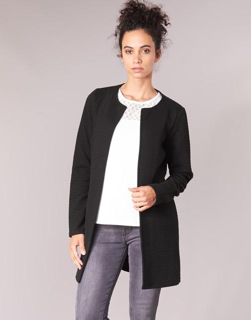 Textiel Dames Jasjes / Blazers Vila VINAJA LONG Zwart