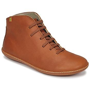 Schoenen Dames Laarzen El Naturalista EL VIAJERO Brown