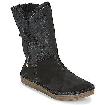 Schoenen Dames Hoge laarzen El Naturalista RICE FIELD  zwart