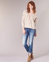 Textiel Dames Skinny jeans Le Temps des Cerises HERITAGE Blauw / Medium