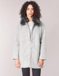 Textiel Dames Mantel jassen Le Temps des Cerises DUCHESSE Grijs