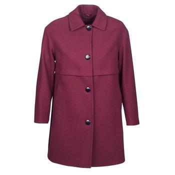 Textiel Dames Mantel jassen Sisley FAREDA Bordeaux