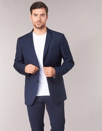 Textiel Heren Jasjes / Blazers Sisley FASERTY Marine