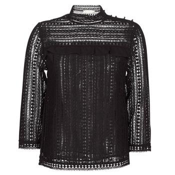 Textiel Dames Tops / Blousjes See U Soon TELICA Zwart