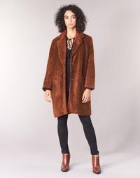 Textiel Dames Mantel jassen See U Soon REVENTA Brown