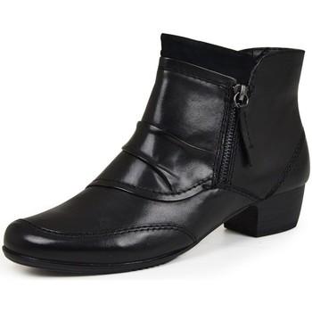 Schoenen Dames Enkellaarzen Jana 25331 Noir