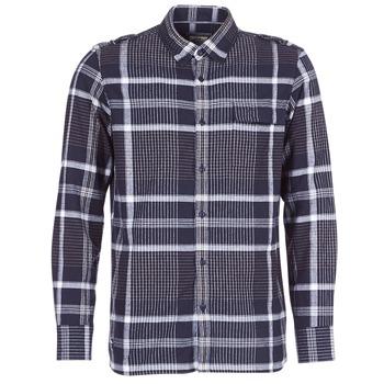 Textiel Heren Overhemden lange mouwen Oxbow CAMPO Marine