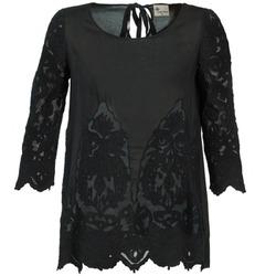 Textiel Dames Tops / Blousjes Stella Forest ALANE Zwart