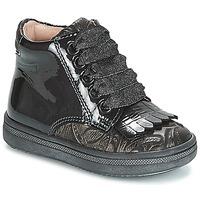 Schoenen Meisjes Hoge sneakers Acebo's DOLAGIRI Zwart / Zilver