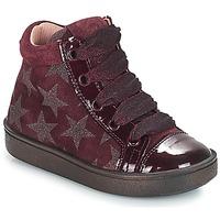 Schoenen Meisjes Hoge sneakers Acebo's MASSA Bordeaux