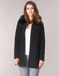 Textiel Dames Mantel jassen Desigual COLLINE Zwart