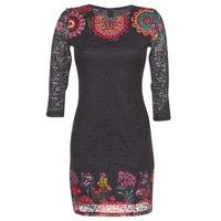 Textiel Dames Korte jurken Desigual DARINA Zwart