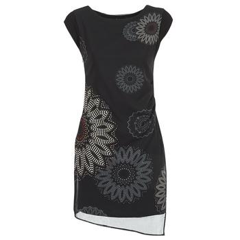 Textiel Dames Korte jurken Desigual SANDRINI Zwart