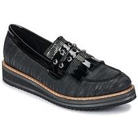 Schoenen Dames Mocassins Regard RUVOLO V1 ZIP NERO Zwart