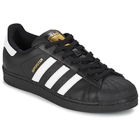 Schoenen Heren Lage sneakers adidas Originals SUPERSTAR FOUNDATION Wit / Zwart