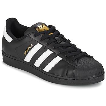Schoenen Heren Lage sneakers adidas Originals SUPERSTAR FOUNDATION Wit / Zwart