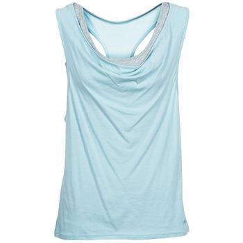 Textiel Dames Mouwloze tops Bench SKINNIE Blauw