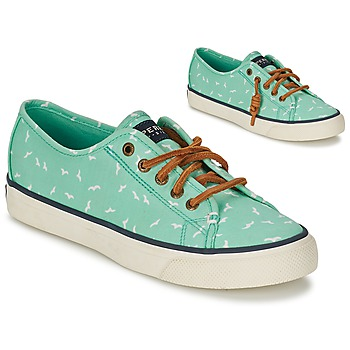 Schoenen Dames Lage sneakers Sperry Top-Sider SEACOAST Groen