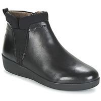Schoenen Dames Laarzen Stonefly PASEO IV 5 NAPPA Zwart