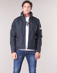 Textiel Heren Wind jackets Helly Hansen CREW HOODED MIDLAYER JACKET Marine