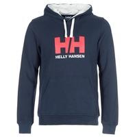 Textiel Heren Sweaters / Sweatshirts Helly Hansen HH LOGO HOODIE Marine