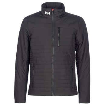 Textiel Heren Wind jackets Helly Hansen CREW INSULATOR JACKET Zwart