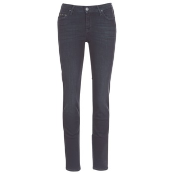 Textiel Dames Straight jeans Lee ELLY ZIP Zwart