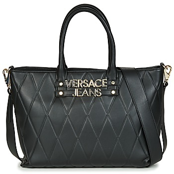 Tassen Dames Handtassen kort hengsel Versace Jeans TACAZO Zwart