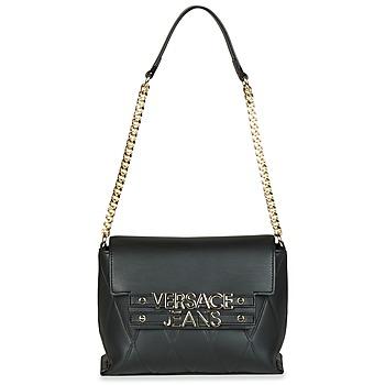 Tassen Dames Handtassen lang hengsel Versace Jeans PURACE Zwart