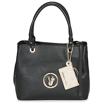 Tassen Dames Handtassen kort hengsel Versace Jeans SICHA Zwart