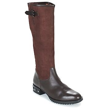 Schoenen Dames Hoge laarzen Mam'Zelle XANE Brown