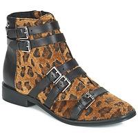 Schoenen Dames Laarzen Le Temps des Cerises IZY Leopard
